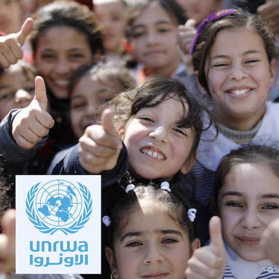 Join Sylvie to make a difference - Donate to the UNRWA today to give the gift of education. (See my message below)