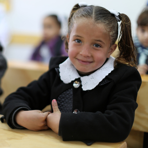 Education is a guaranteed right for Palestinian children